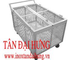 XE ĐẨY INOX TDH - XD020