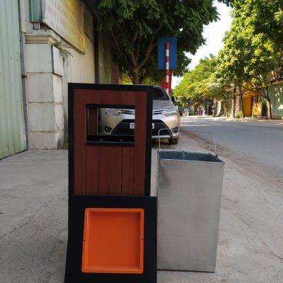 Thùng rác công cộng A78-Q